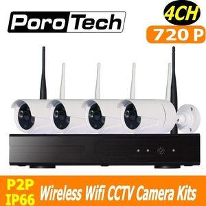 Wireless Camera Kits 720P 4CH NVR Kit 500m Cascade Mode Cctv WIFI Surveillance System Set Outdoor Indoor Video Security IP Camera1