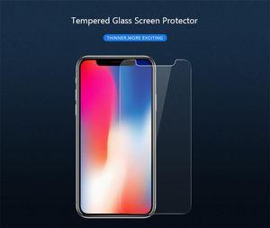Super Super Real 9h زجاج الشاشة ل IPhone Hardness 6 / 6S / X / XS / 11 / 11PRO 2.5D حزمة حامي خفف VHVUP