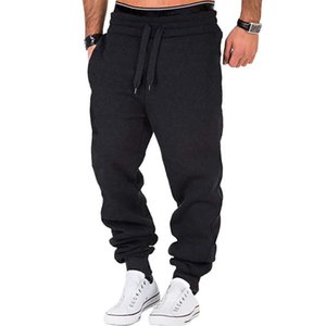 Man Sweatpants Drawstring Exercise Gym Exercise Casual Trousers Sping Outdoor Jogging Pants