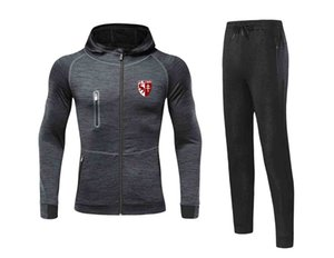 20 21 Football Club de Metz Football Set Youth Home Uniform Adult Soccer Jersey Winter Tracksuit Men Warm Suits
