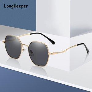 Black Friday Vintage Sunglasses Shades Brillen Unregelmäßige Sonnenbrille Damen Metall Frame Gradient Luxus Frauen UV400 Goggle Twodl
