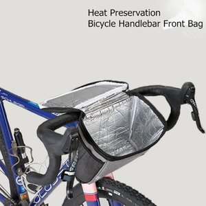 Bike Bicycle Bag MTB Road Handlebar Front Bag Large Capacity Heat Preservation Night riding Reflective stripe Bike Accessories1
