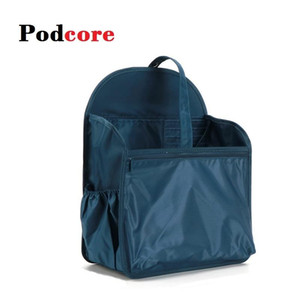 Backpack Organizer Insert Bag Dark Green Shoulder Bag School Backpack Tool Organizer Insert