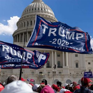 90*150cm 3x5FT America Great Donald for President Campaign Banner 16 Styles Trump 2020 Flag Donald Trump Flag Train Garden Flags AAD2245