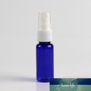 Empty Plastic Blue Spray Bottles 20ML Small Refillable Container with Clear Fine Mist Sprayer for Perfume Essential Oils