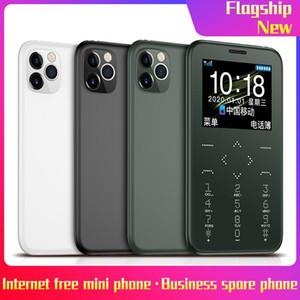 잠금 해제 celulares 7S + 휴대폰 Celulares Handfree 마이크 MTK SIM FM의 MP3 / 토치 / 카메라 / 400MAH 무선 블루투스 걸기 작은 휴대 전화