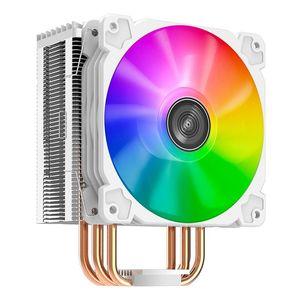 JONSBO CR1000 CPU Cooler, 4 Heat Pipe Tower Cooler 120мм PWM 12V SYNC RGB LED CPU Fan Cooler