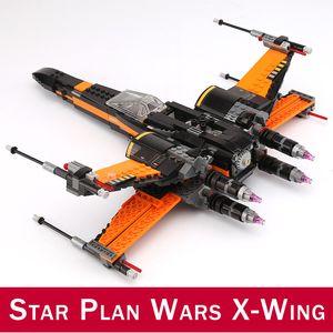 742 adet Birinci Sipariş X-Kanat Fighter BB-8 Yapı Taşları Rakamlar Oyuncaklar Uyumlu DIY 75102 10466 05004 Yıldız Plan Savaşları Serisi
