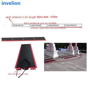 Lunga distanza tappeto RFID UHF antenna 10dBi sono dotati di antenna piano cavo rfid sistema di cronometraggio per la maratona / moto