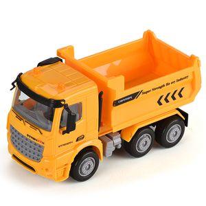 1:40 ABS пластика трение модель автомобиля игрушка для малыша шесть колес привода прикольного oparation город игрушка транспорта грузовика