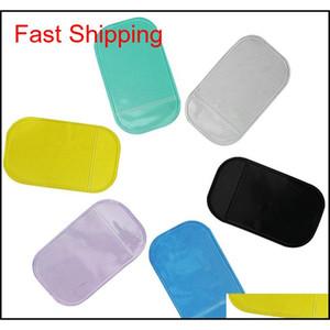 Anti Slip Mat Non Slip High Quality Car Magic Anti-Slip Dashboard Sticky Pad Phone Holder Adsorbability Silica Gel Magic Car Sticky Mx Gpww9