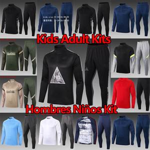 2020 2021 ATLETICO MADRID Survetement Traje João Félix Suárez 20 21 Real Madrid Cheatsuits Peligro 2021 Ajax Training Traje Men + Kits Kits