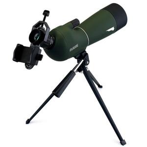 Avcılık / Evrensel Telefon Adaptörü Dağı 50 w / 60 / 70mm Teleskop Yakınlaştırma Spotting Scope Su geçirmez Monoküler FreeShipping