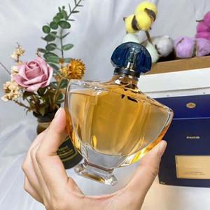 das mulheres high-end perfume 90ML picante oriental citrus cedro bergamota jasmim subiu fresca fragrância floral e frutado com duração