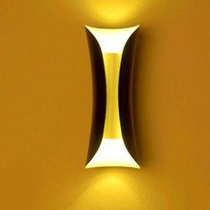 Оптовая продажа современная простая крытая светодиодная настенная лампа коридор спальни гостиная комната прикроватная предпосылка украшения