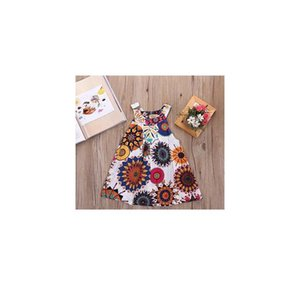 Girls Dress New Toddler Baby Flower Dress Girls Mini Princess Dress Wedding Party Kids Tu jlliXr