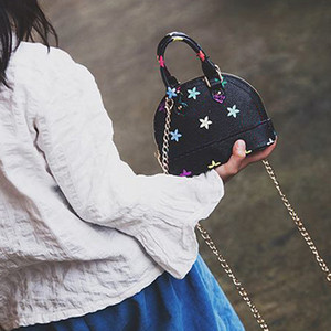 Girl Fashion Handbags Hot Sale Printed Mini Bags Children Casual Purse Messenger Bag Children One Shoulder Bags 4 Styles