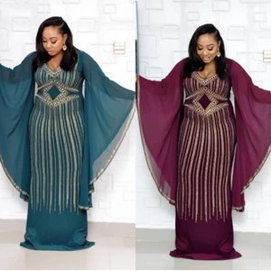 African Dresses For Women Robe Africaine 2021 African Clothing Dashiki Fashion Cloth Long Maxi Dress Africa Clothing