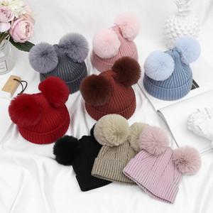 bébé garçons nouveau-nés filles chapeaux d'hiver tout-petits enfant Venonat haedgear laine knited chapeaux casquettes bébé cops mous chaud