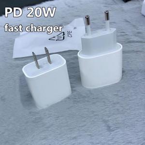 Tip-C 20 W AB ABD Plug AC DC PD Hızlı Şarj iphone12 Cep Telefonu için 20 Walt Güç CE USB-C Portu ile Onaylı Adaptörü