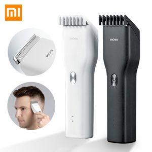 Xiaomi Mi Enchen USB Boost eléctrica cortadora de cabello de dos velocidades de cerámica del pelo de corte rápido de carga del condensador de ajuste del pelo