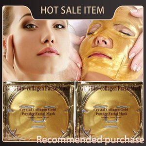 Altın Kolajen Fa Fa Biyo-kolajenin Yüz Peeling Tozu Kristal Nemlendirici Maskeler Altın Cilt Bakımı Altın Kolajen Fa Biyo-coll Qbmt Maskesi
