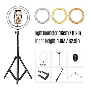 26cm Fill Light Ring Light Supplementary LED Folding Fill for Photography Live Stream Makeup YouTube Video