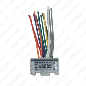 Car OEM Audio Stereo Wiring Harness Adapter For Chevrolet Sail(2010~present) Install Aftermarket CD DVD Stereo #2004
