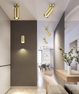Nordic personality golden Ceiling Lights spotlight clothing store cafe living room chandelier lighting bar hotel bar ceiling lamps