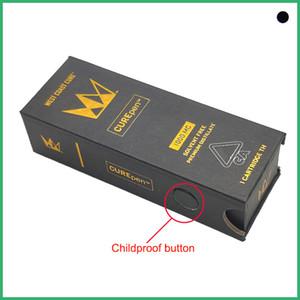 Nouveaux Curepen Cartouches Cure Vape Pen or Chariots d'or avec Childproof Boîte TH210 Th205 logo OEM premium atomiseurs