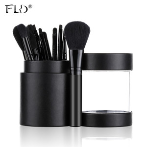 FLD 12st / set Bürsten Puderlidschatten Lippenkontur Professionelle Make-up Pinsel-Set 201009