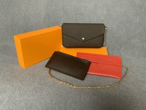 Luxurys New handbags purses bags Fashion women Shoulder bags quality bag Size 21*11*2 cm Model 61276 with box