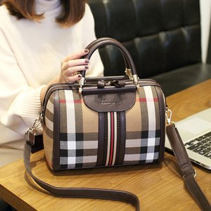 Sacola outono e inverno 2020 do saco das mulheres da Europa e do ombro Estados Unidos Moda Declive Boston Pillow Bag luxurys Designers Bolsas