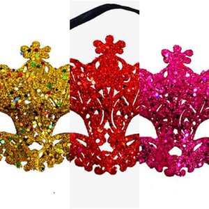 New Fashion Luxury Venetian Masquerade Women Girls Sexy Fox Eye Mask For Fancy Dress Christmas Halloween