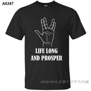 Kleidung Lustige Better Life Long And Prosper T-Shirt Mann 2020 100% Baumwolle Herren T-Shirt Hiphop Top beiläufige 14141210
