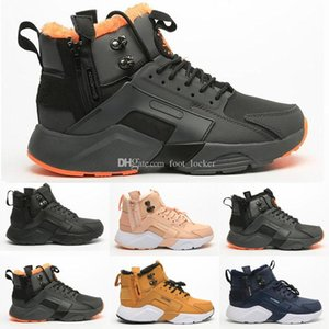 New Airs Huarache 6 X Acronym City MID Leather High Top Huaraches Run Mens Women Trainers Running Shoes Designers Sneakers