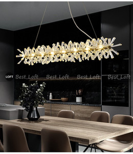 Luxury Modern Chandelier Lighting For Dining Room New Arrival LED Crystal Lamp Kitchen Island Decor Lustres De Cristal