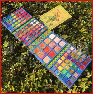 COCOURBAN 117 Renkler Glitter Işıltılı Mat Büyük Göz Farı Paleti Metalik pigmente Pudra Allık Göz Farı Makyaj Suya Kozmetik