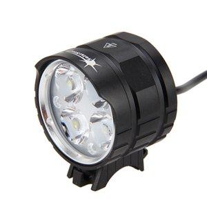 Solarstorm 8000LM 4x T6 LED-Kopf-Brenner-Front-Fahrrad-Radlampen-Bike-Lampe Taschenlampe Fackel 201027