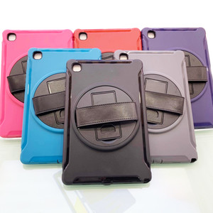 "Shockproof Holder Hybrid Armor Tablet Case for iPad Air 10.2 10.5 9.7 Mini 2 3 4 5 7 Samsung Tab S7 11"" T870 T290 T510 T860 plus 12.4"" T970"
