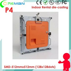 Display Arrival Panneau Led Pitch 4mm , 512mm*512mm Video Wall Cabinet P4 32x64 Rental Panel Empty Cabinet1