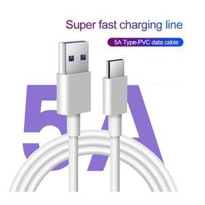 1M 5A Boostez Câble Pour Huawei P20 Mate Pro 10 P10 Pro Type de Samsung C Câble de charge rapide