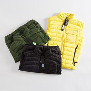 invierno de los hombres abajo diseñadores de gallina suéter para hombre chaleco sin mangas de las mujeres chaqueta caliente canadá piel veste casuales s abrigos 2021 nueva del estilo del resorte V K1AZ #