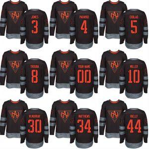 북미 하키 저지 (10)의 J. T.의 2016 월드컵 밀러 (34) 오 스톤 매튜스 (44) 모건 리 엘리 (30) 머레이 사용자 정의 하키 유니폼