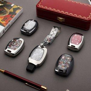classe Car Key Bag Case Capa Chave Titular Cadeia Auto Parte Para Mercedes Benz W251 W463 C180 E200 GLK300 GLK GLA SLK AMG A B C R G E