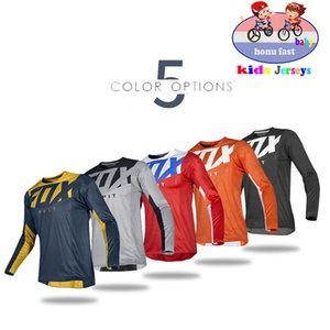Kids Off Road ATV Racing T-Shirt AM RF Bicycle Cycling Bike fox Downhill Jersey Motorcycle Jersey Motocross MTB DH MX Ropa Boys 201031