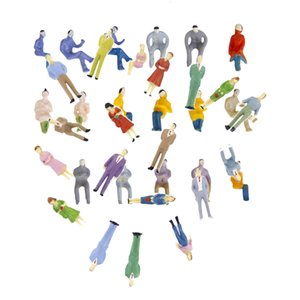 200 Painted Model Train People Figures (1:50 and 1:100 Scale)