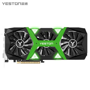 Yeston GTX1660 Super 6G D6 Graphics Card Gaming Master PA GDDR6 6G 192bit GDDR6 1530 1785MHz Gaming Graphics Card for Video