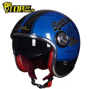 BEON Open Face Motorcycle Helmet Мужчины Каско Мото Мотоцикл Урожай Cascos Para Moto Double Lens Мотокросс Capacete Scooter Шлем