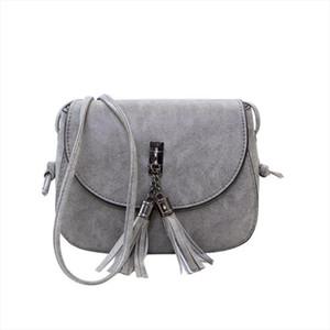 crossbody bags for women Shoulder Bags Solid Flap Mini Women Small Bags Tassel Cheap bolsa feminina sac a main femme
